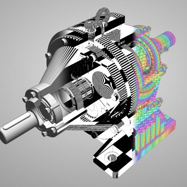 Shapeflow3D Engine Render