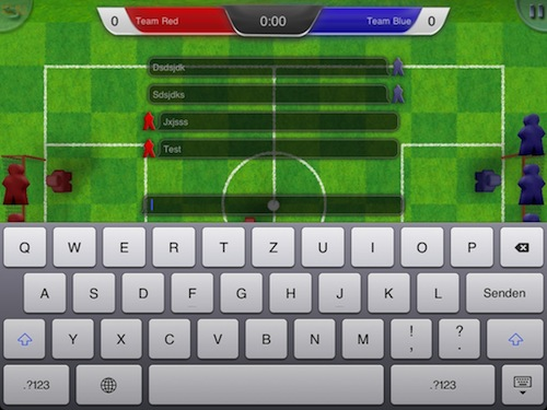 Streetsoccer chat system